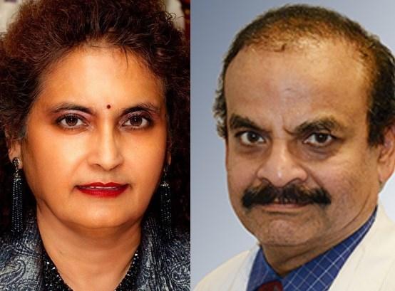 Dr. Sitha-Gita Kalapatapu, (left) and Dr. Umamahesware Kalapatapu