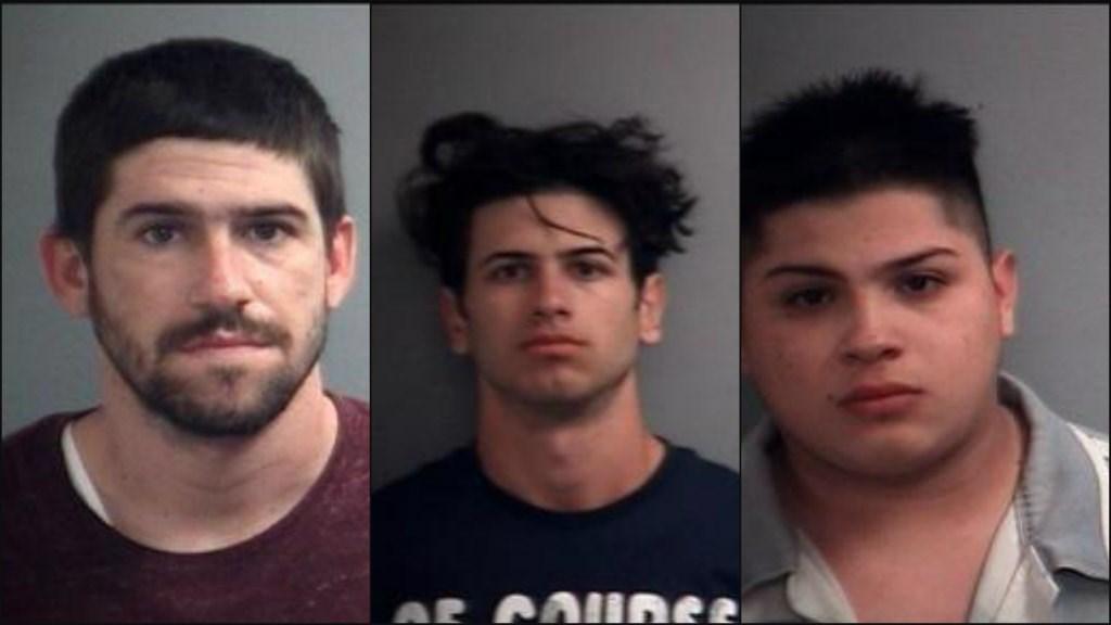 Left to Right: Alejandro Abreu Martinez, Adrian Miguel Abreu Boza and Omar C. Sosa Photo//Indiana State Police