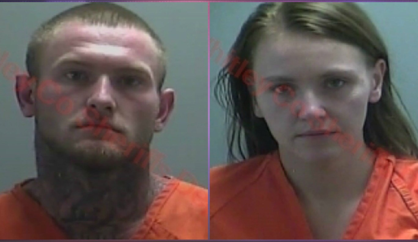 Tyler L. Neal (left) and Laura C. Koze (right) (Photo//Indiana State Police)