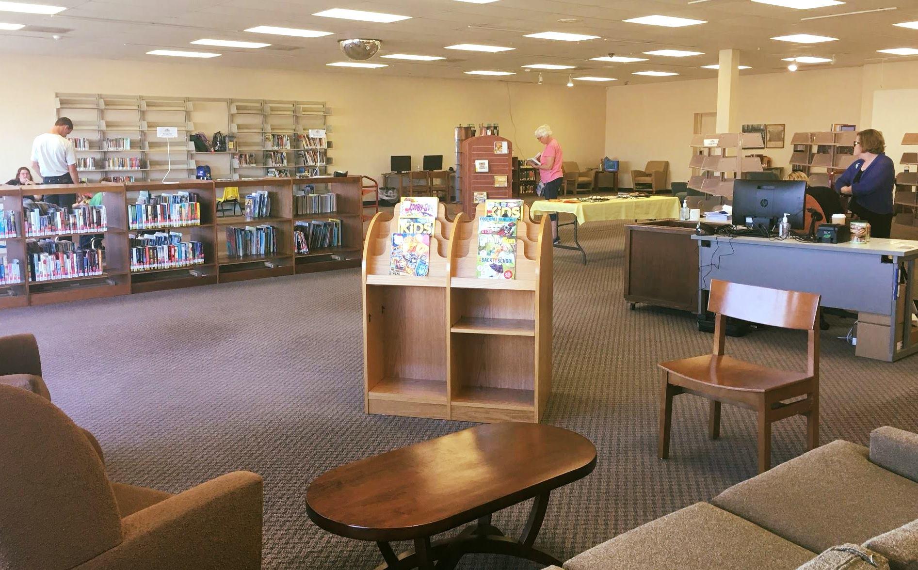 Photo//Eckhart Public Library