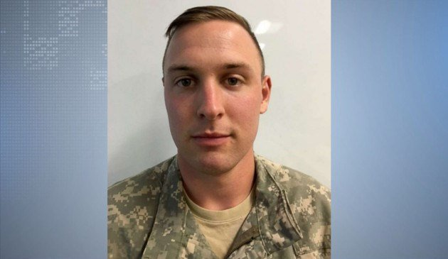 US Army identified 1st Lt. Clayton R. Cullen, of Indiana as one of two pilots killed in an AH64 Apache helicopter crash on Saturday during training operations at the National Training Center at Fort Irwin, California. (Photo//US Army)