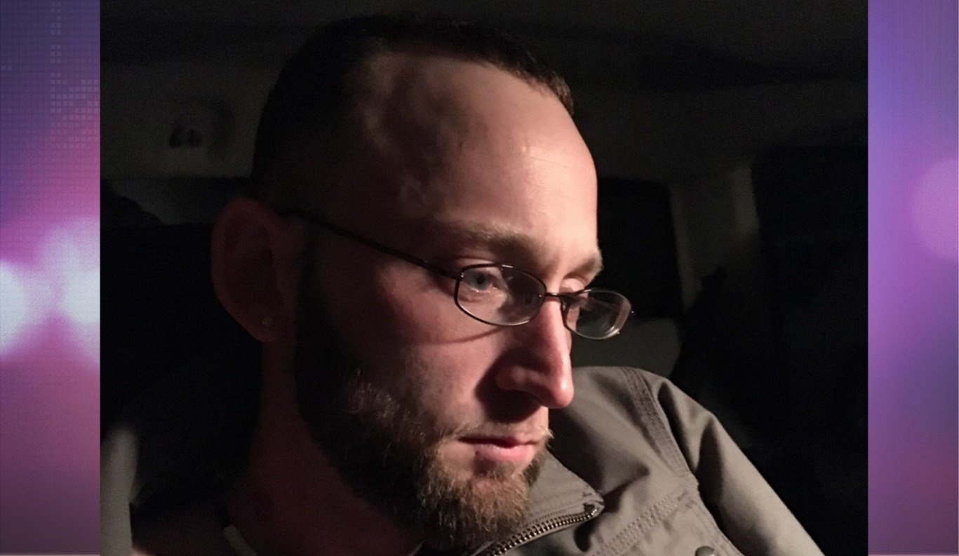 Christopher Fugate in custody (Photo//David Hartzler/ PD2 Indiana Department of Correction)