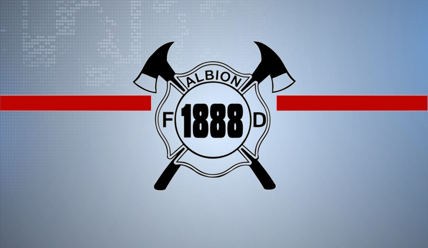 Logo//Albion Fire Auxiliary