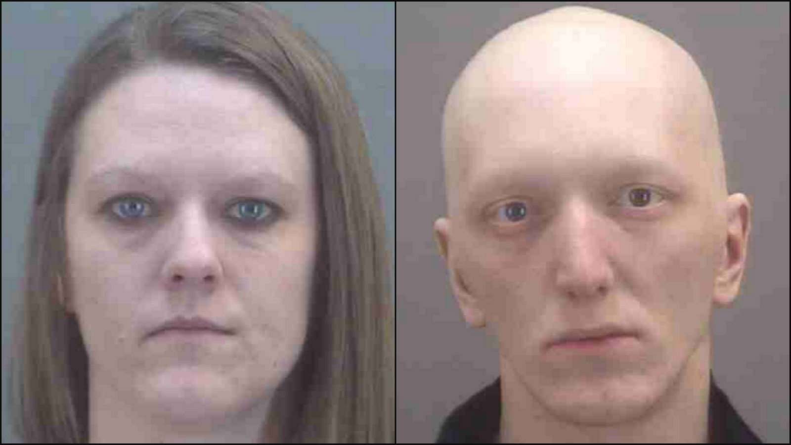April Slone (left) and Cody Fugate (right) (Photo//LaGrange County Sheriff's Department)