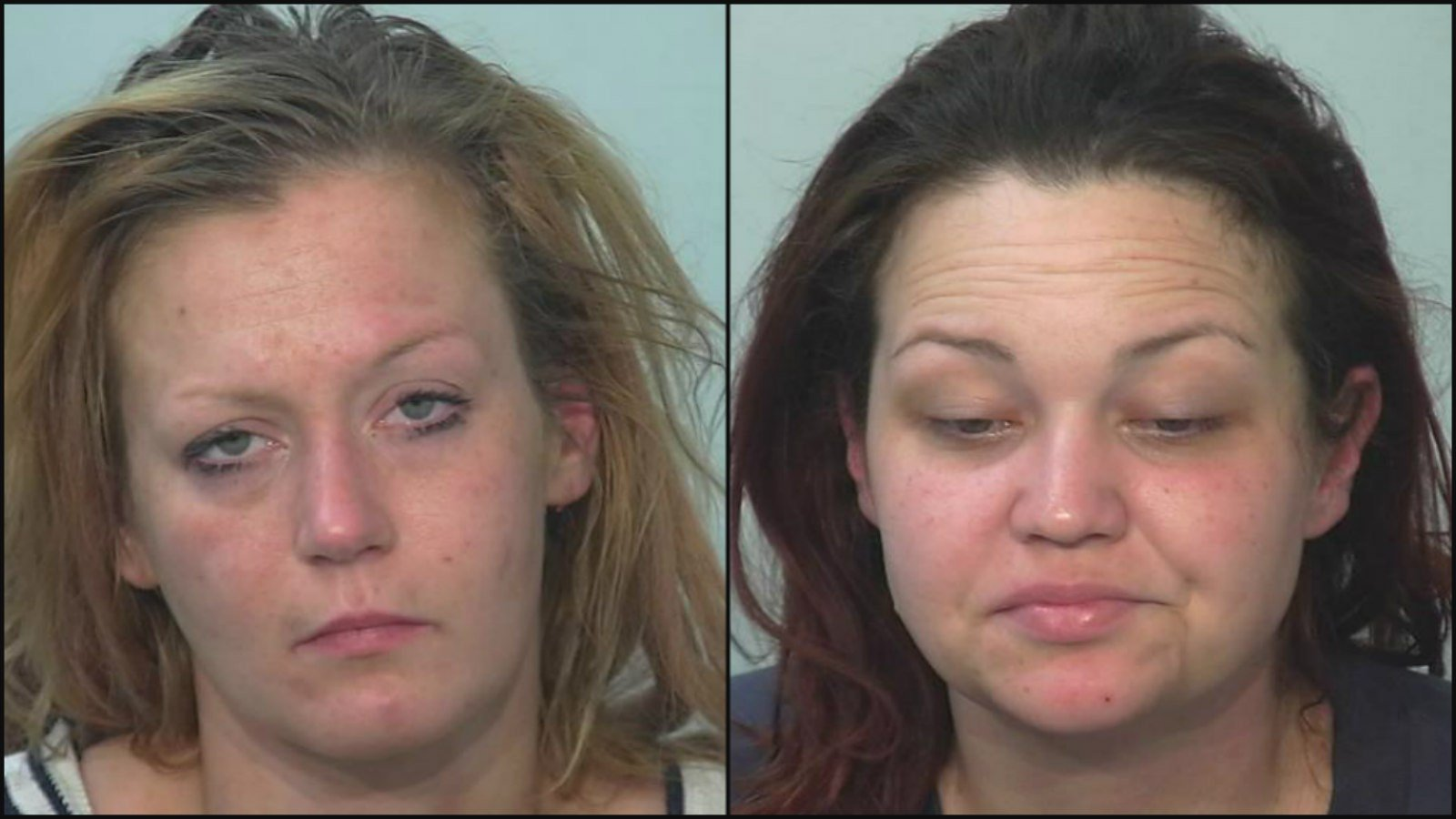 Ashlye Nichols (left) Meghan Clifford (right) (Photo//Allen County Sheriff's Department)