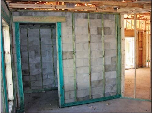 How to build a safe room for your house abc21 your for Vault room construction